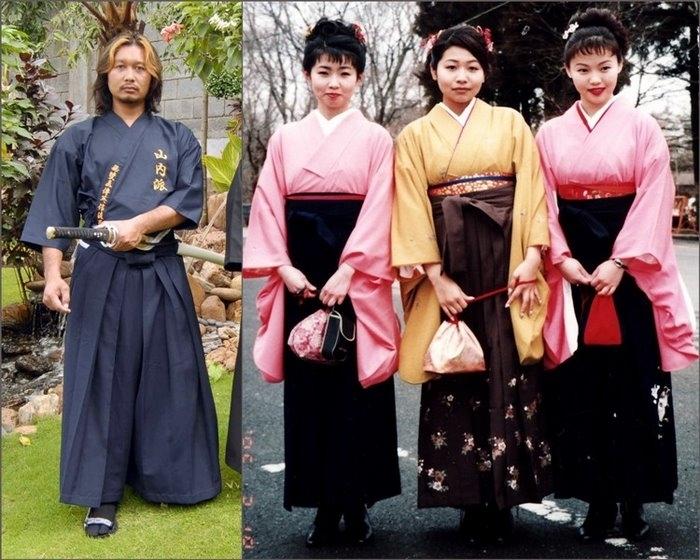японец в кимоно