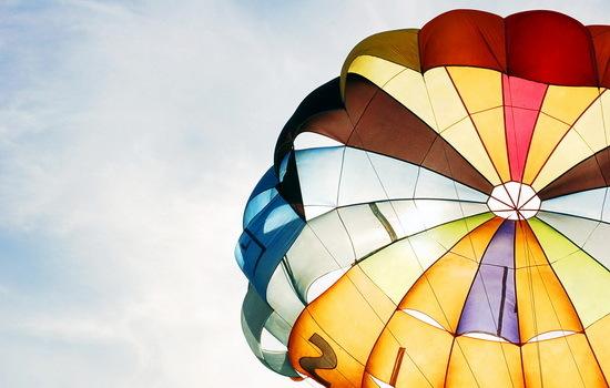 купол парашюта
