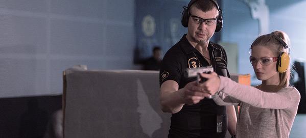 сдать экзамен на оружие в москве