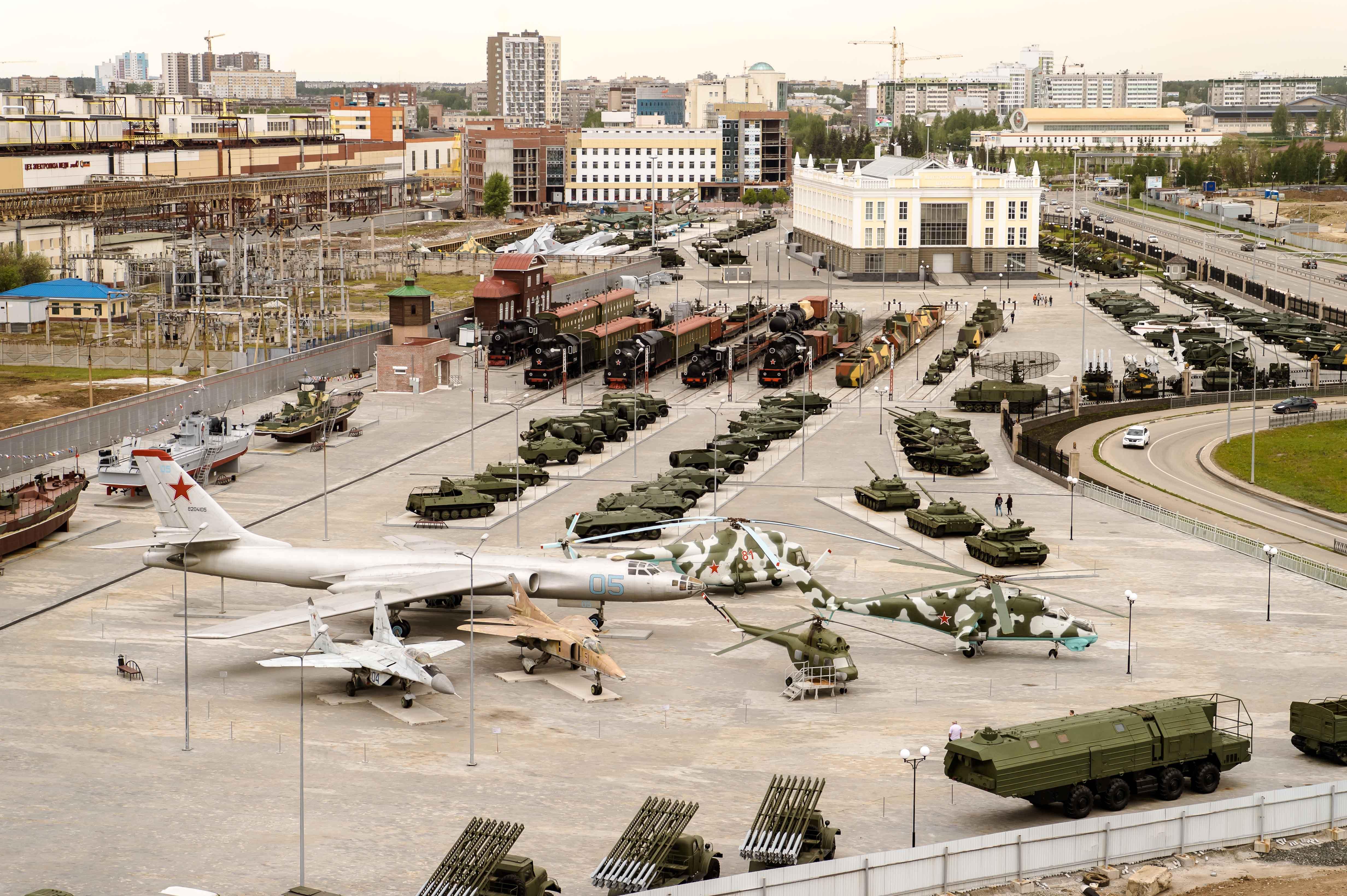 военный музей в верхней пышме