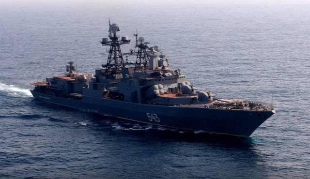большие противолодочные корабли проекта 1155