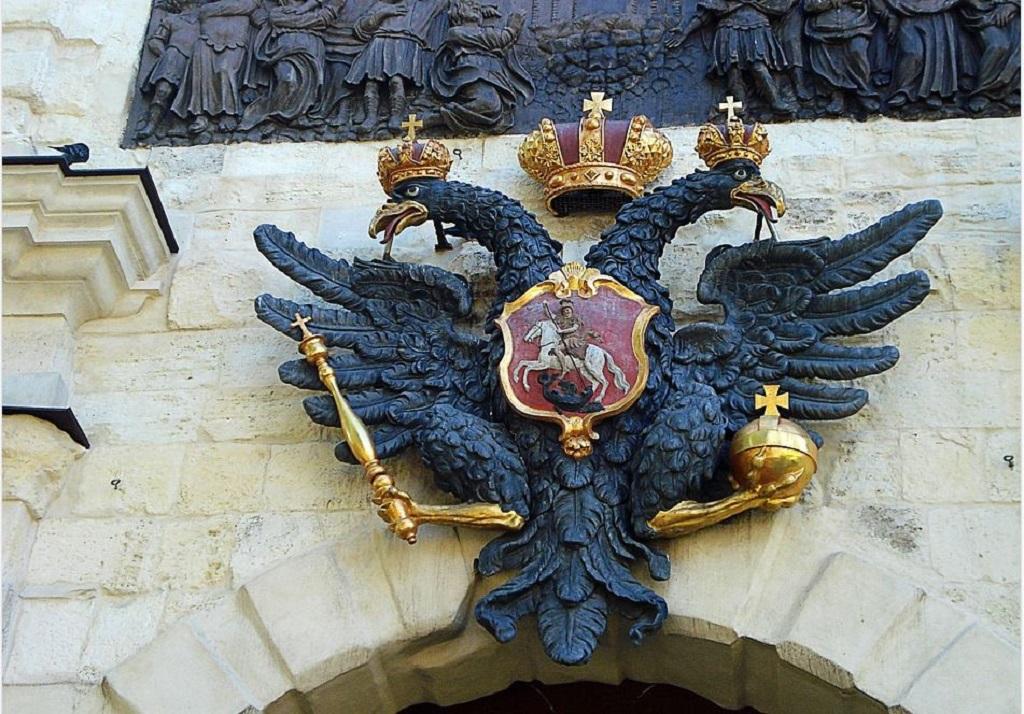 что символизирует двуглавый орел на гербе