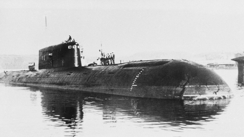 атомная подводная лодка комсомолец