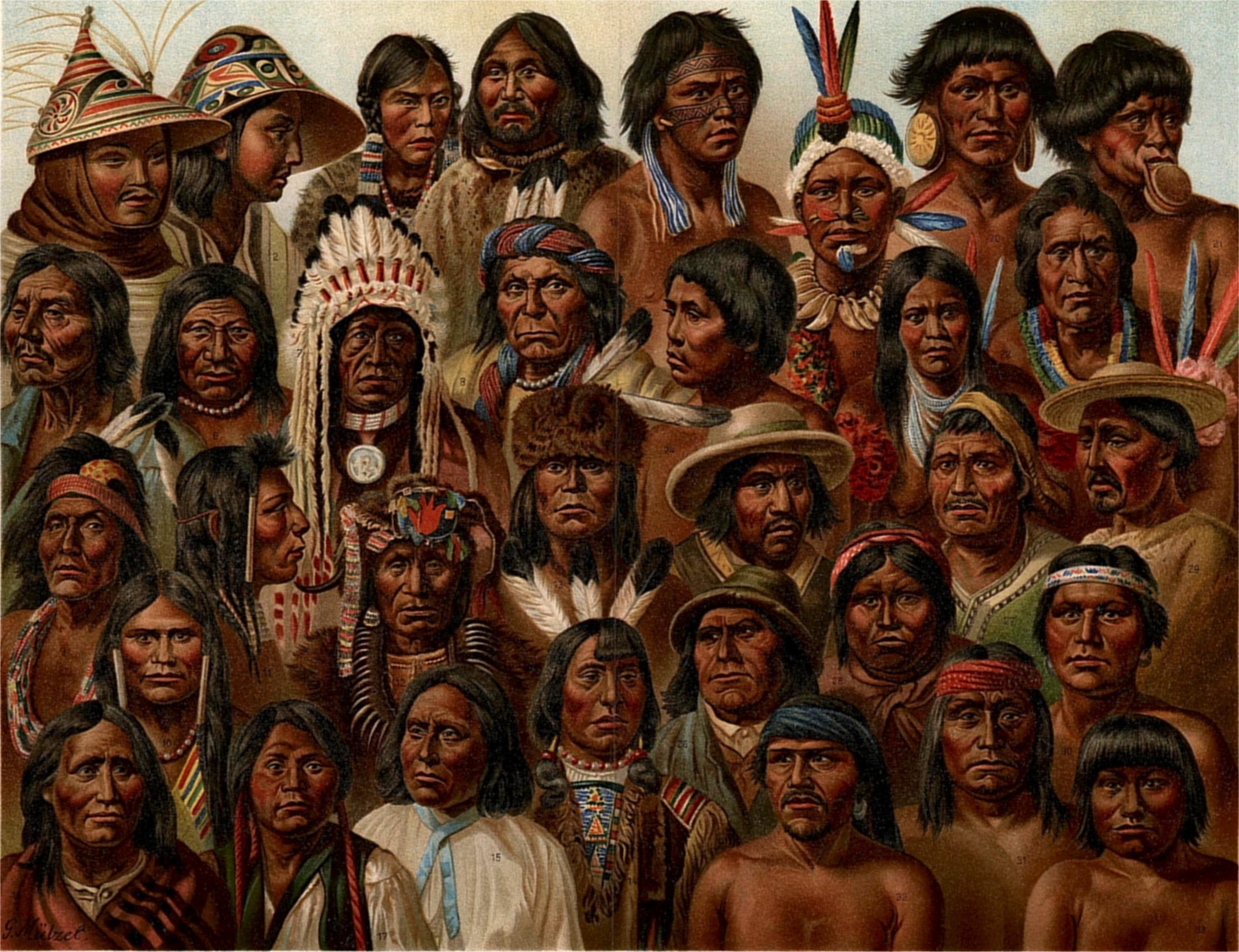 индийцы раса