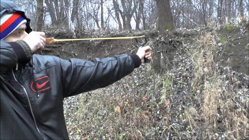 рогатка охотничья