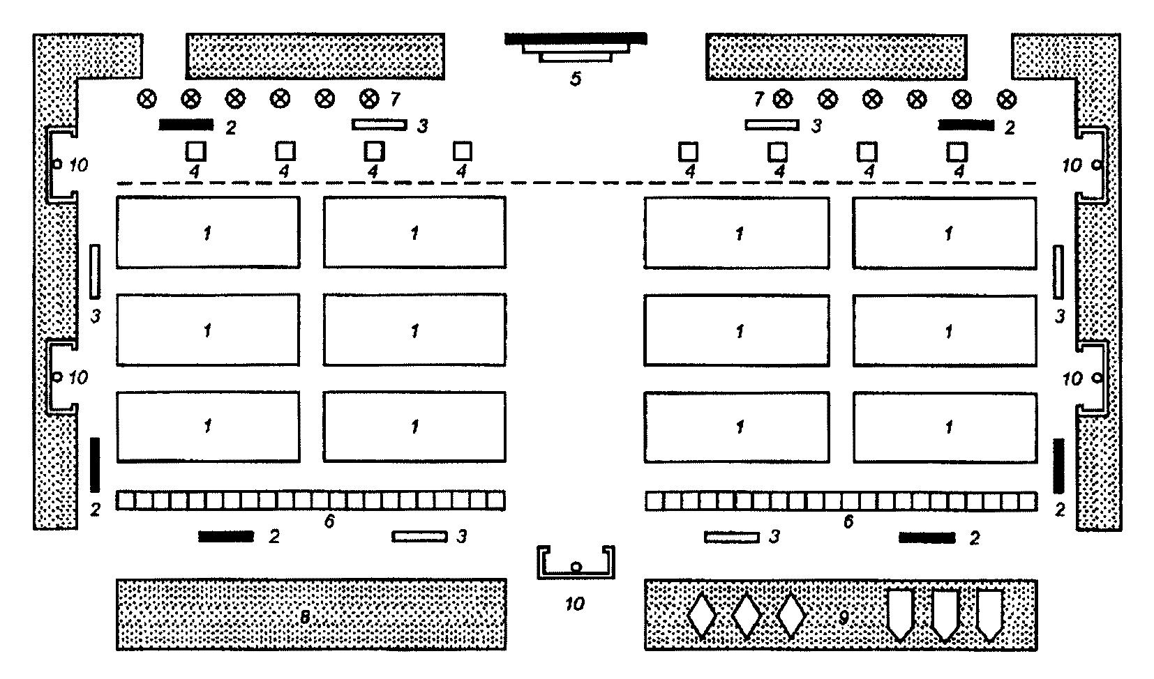 шеренга и колонна отличия