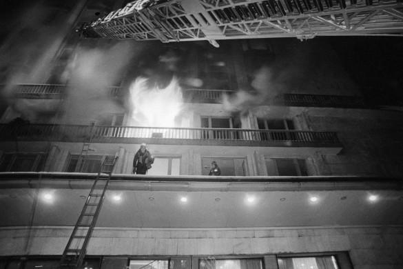 пожар в гостинице
