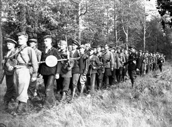 партизанское движение во время вов