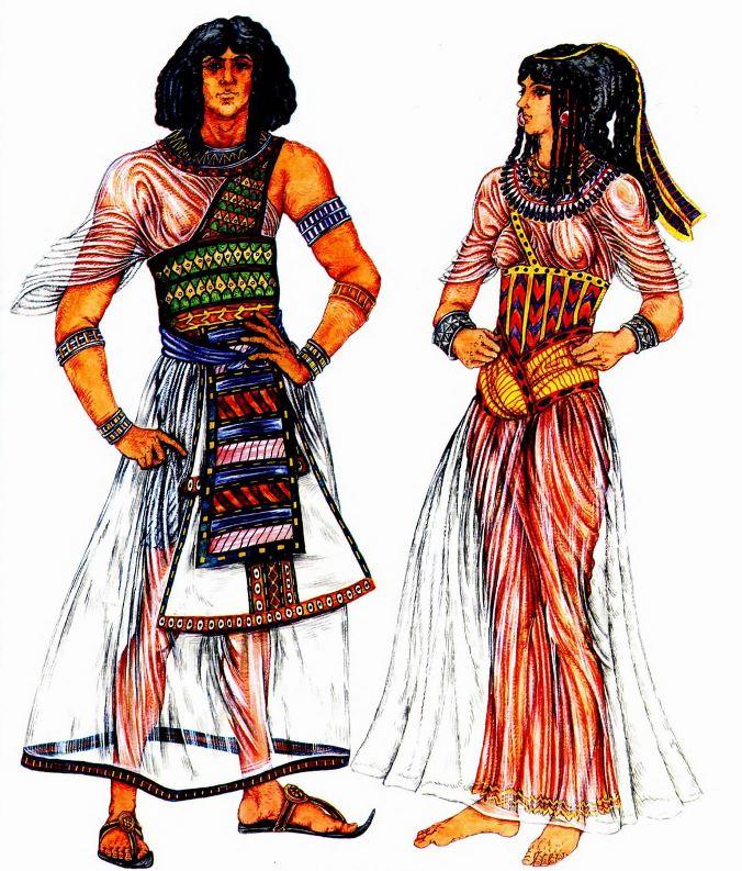 как одевались древние египтяне