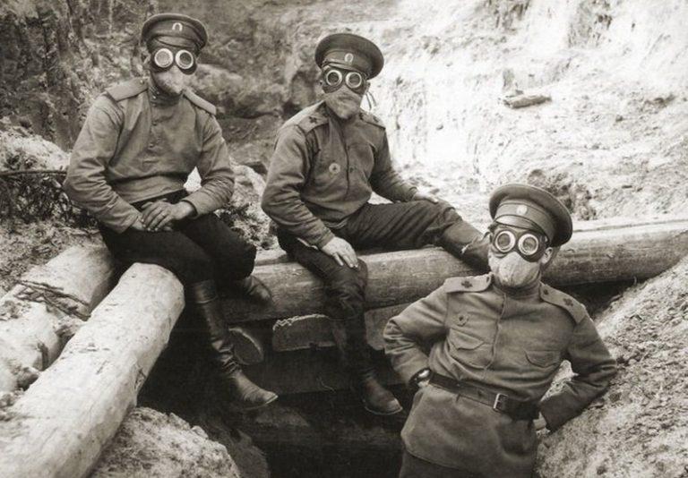 первое применение химического оружия в первой мировой