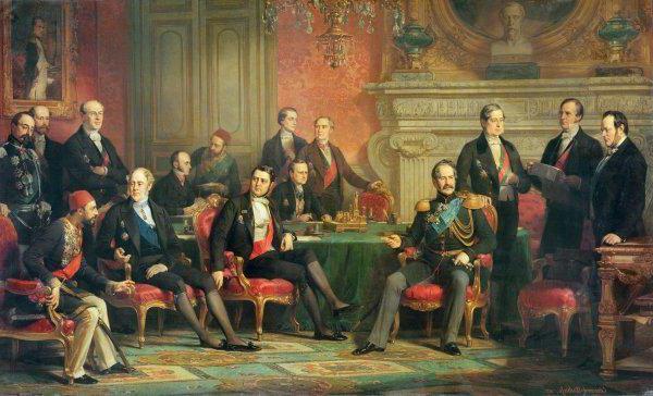 какая война завершилась подписанием парижского мира