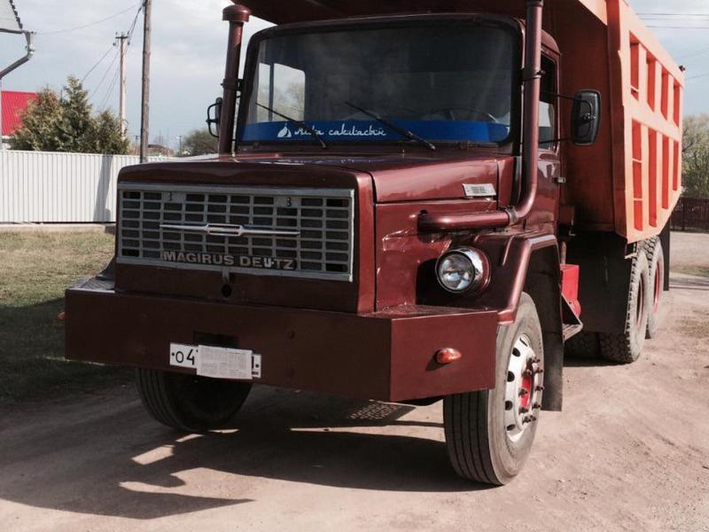 грузовик магирус
