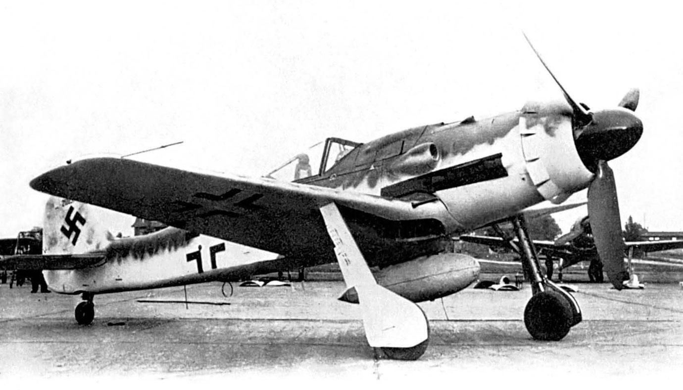фв 190 самолет