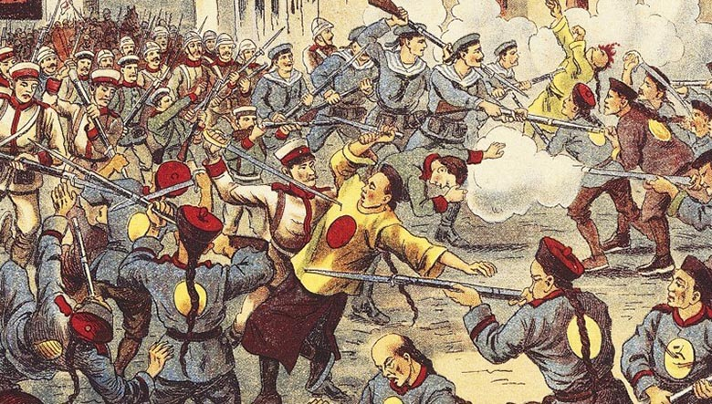 боксерское восстание в китае
