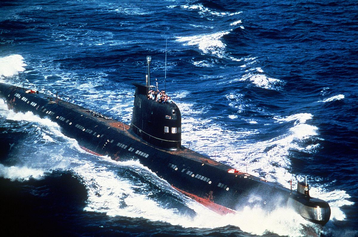 первая подводная лодка в мире