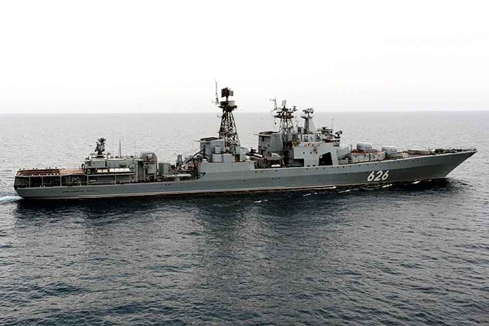 вице адмирал кулаков большой противолодочный корабль