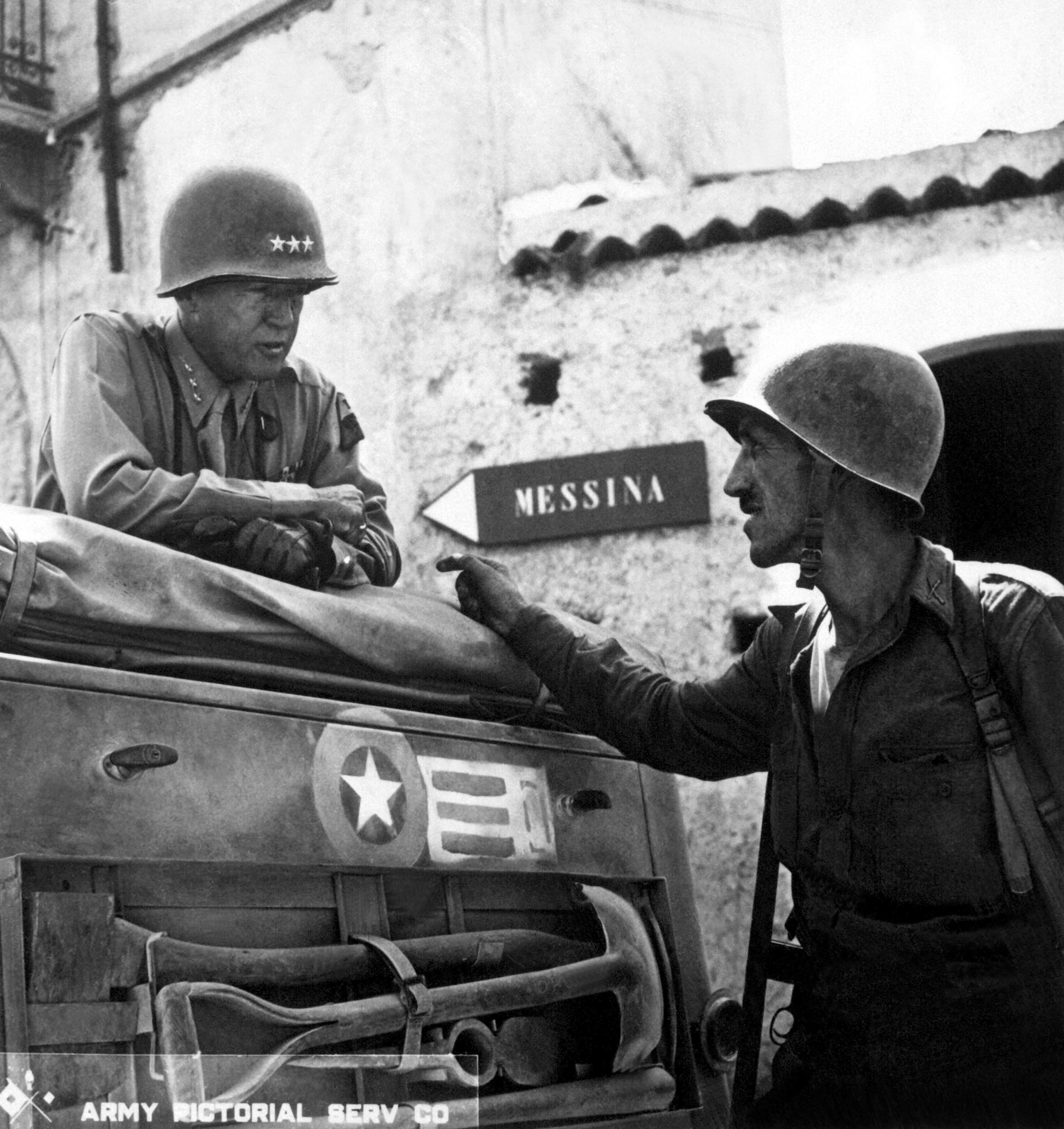 высадка союзников на сицилии