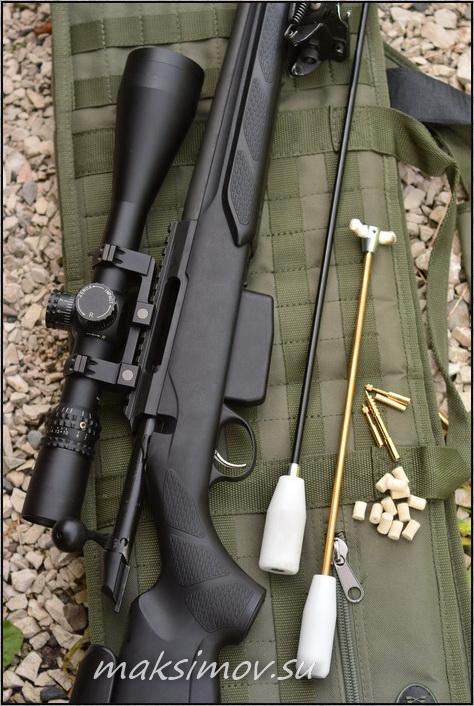 чистка гладкоствольного оружия 12 калибра