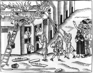 великий лондонский пожар 1666 года