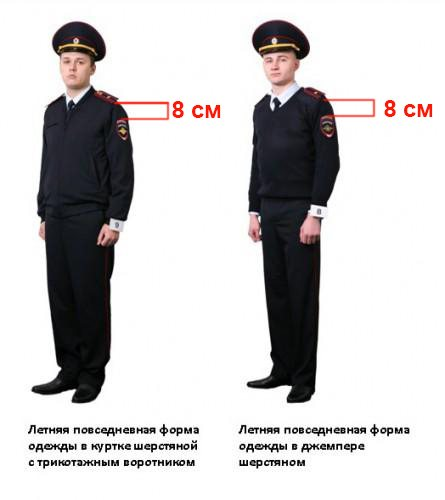 форма милиции ссср