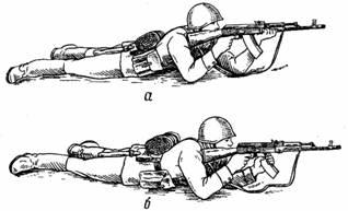 стрельба из автомата калашникова