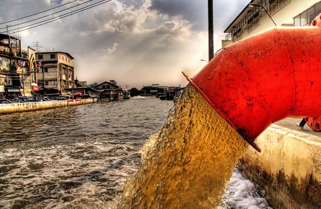 загрязнение гидросферы источники последствия пути решения проблем