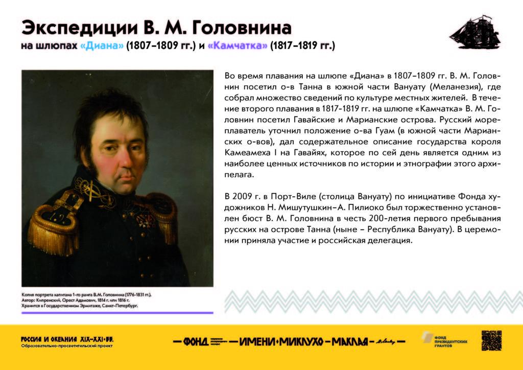 руководитель первого русского кругосветного плавания