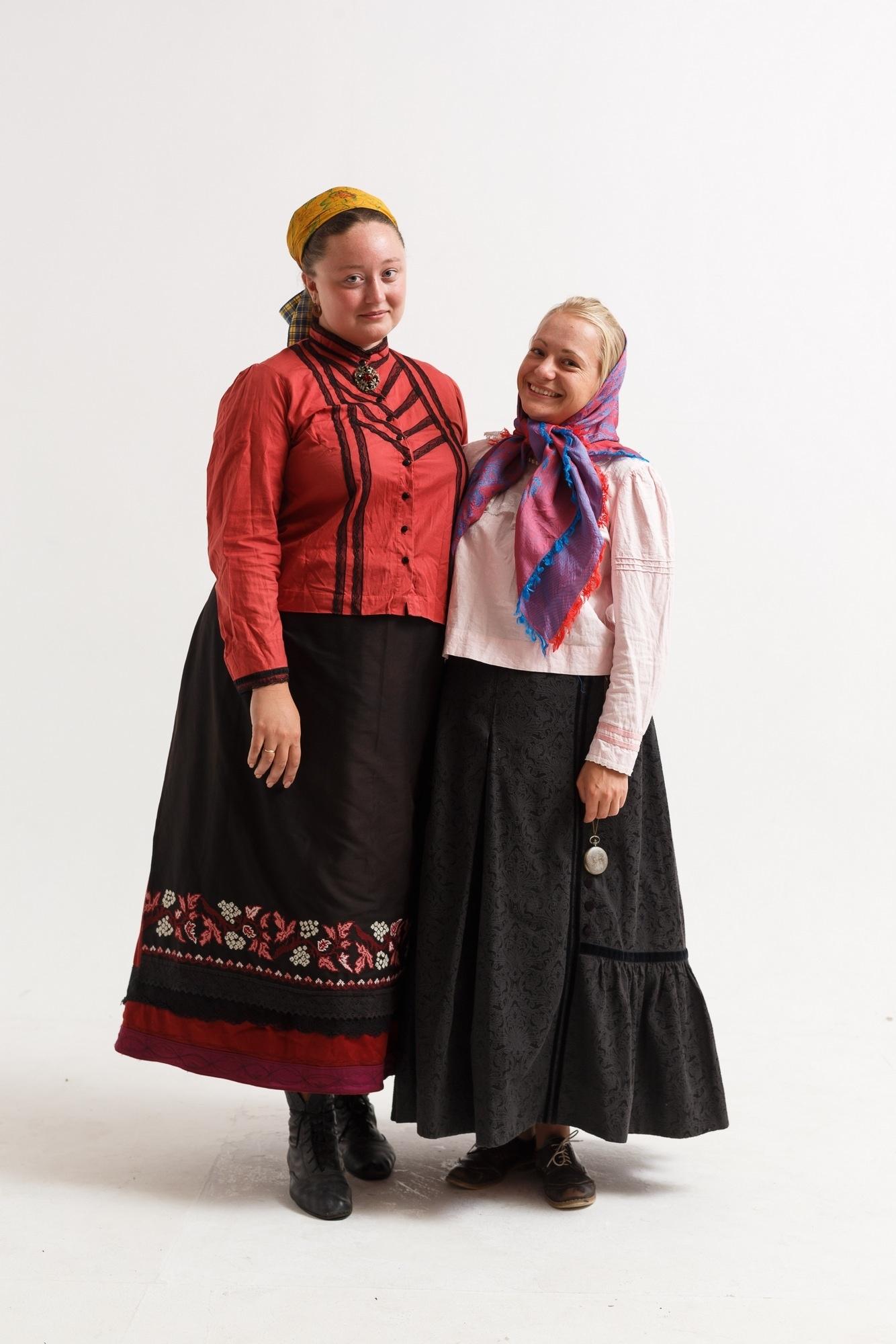 одежда древних славян женская
