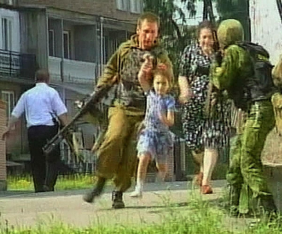 фото террористов беслана