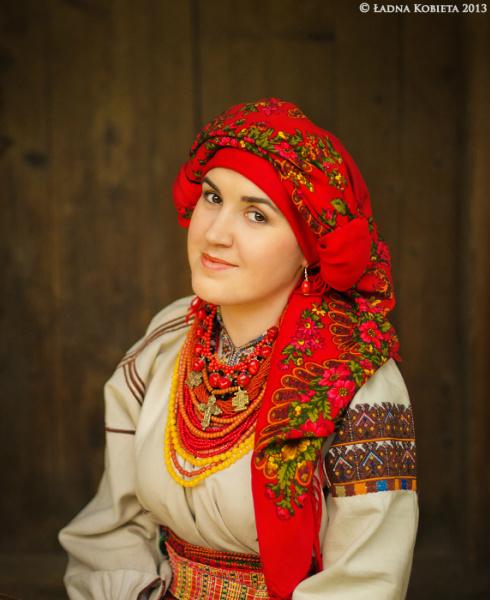 украинский народный костюм женский