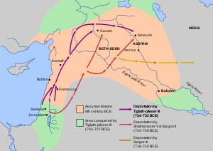 столица ассирии