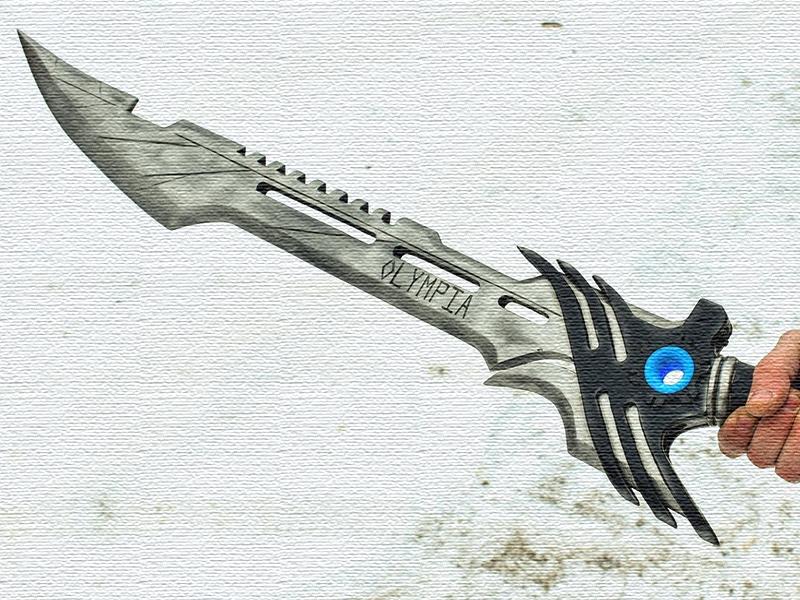как сделать меч своими руками