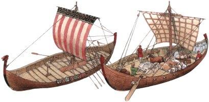 корабль викингов рисунок с подписями