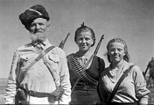 партизаны в годы великой отечественной войны