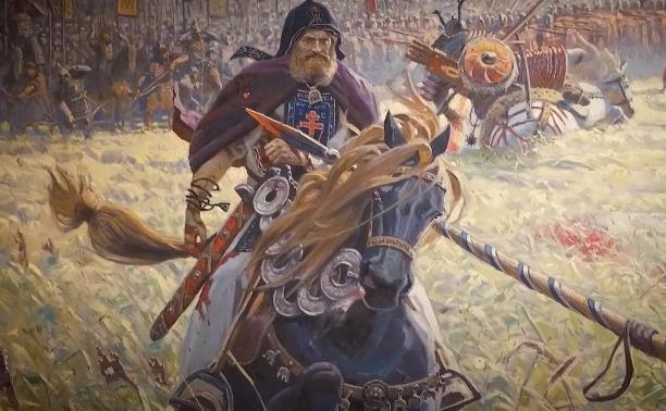 картина битва пересвета с челубеем васнецов
