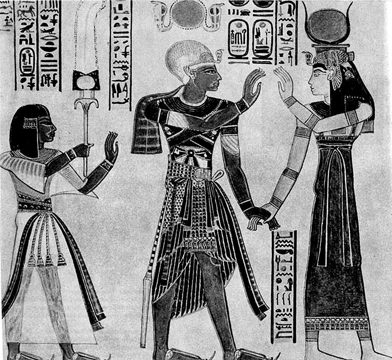 одежда древнеегипетского земледельца