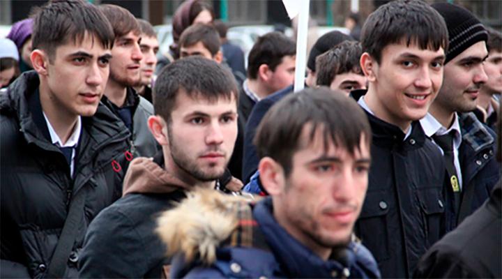 численность чеченцев в россии