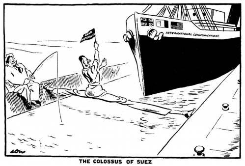 суэцкий кризис 1956 кратко