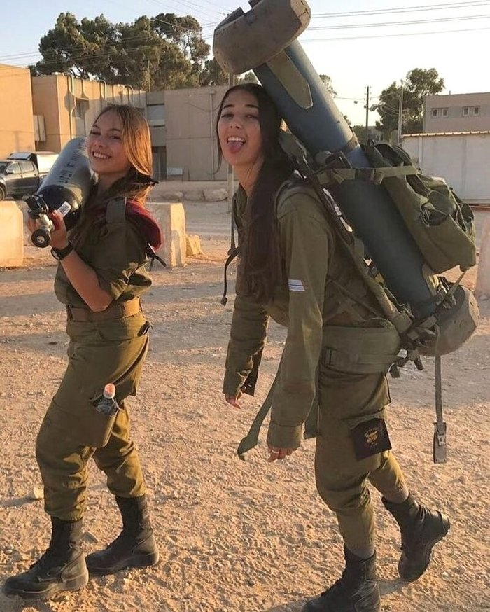 женская армия в израиле