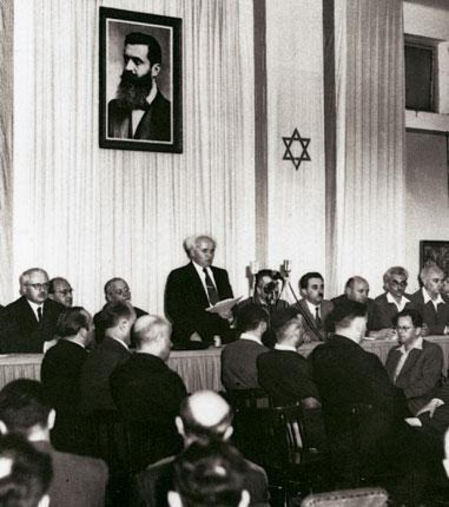 создание израиля