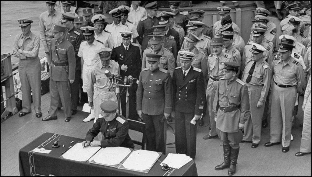 япония подписала капитуляцию
