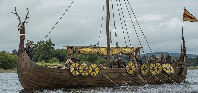 скандинавский корабль