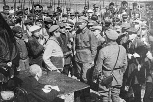 командиры красной армии в гражданской войне