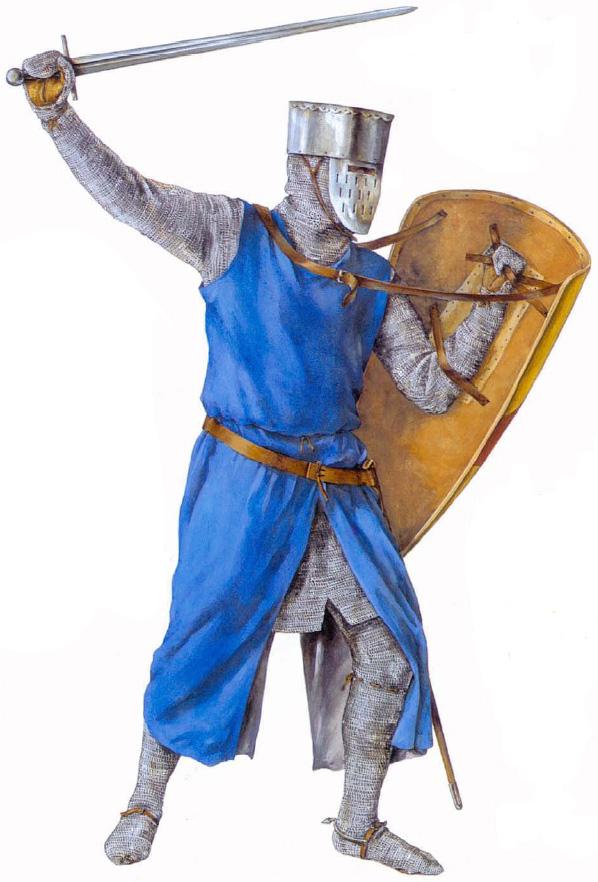 шлемы средневековья