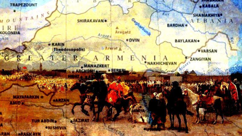 карта армении до геноцида