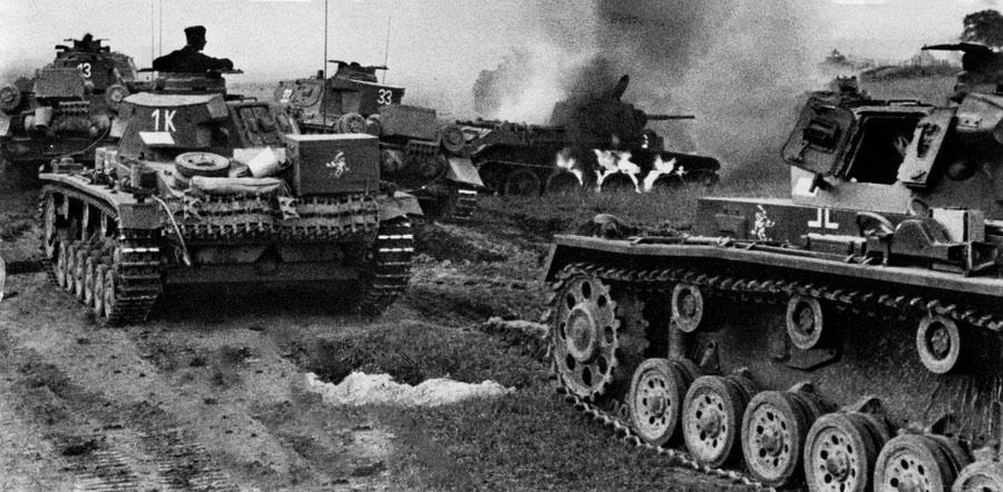 почему немцы напали на ссср