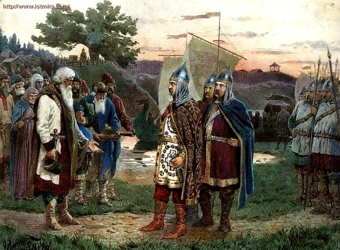 взятие олегом царьграда