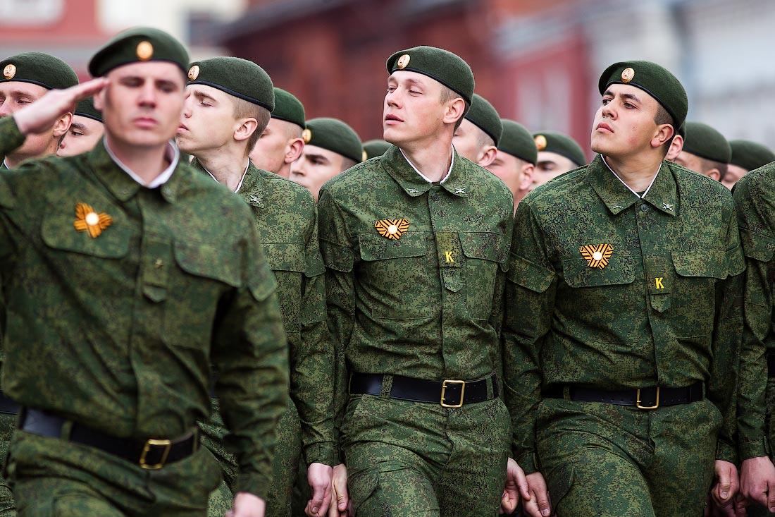 ношение военной формы одежды
