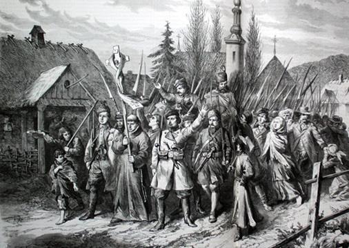 восстание в польше 1863 1864