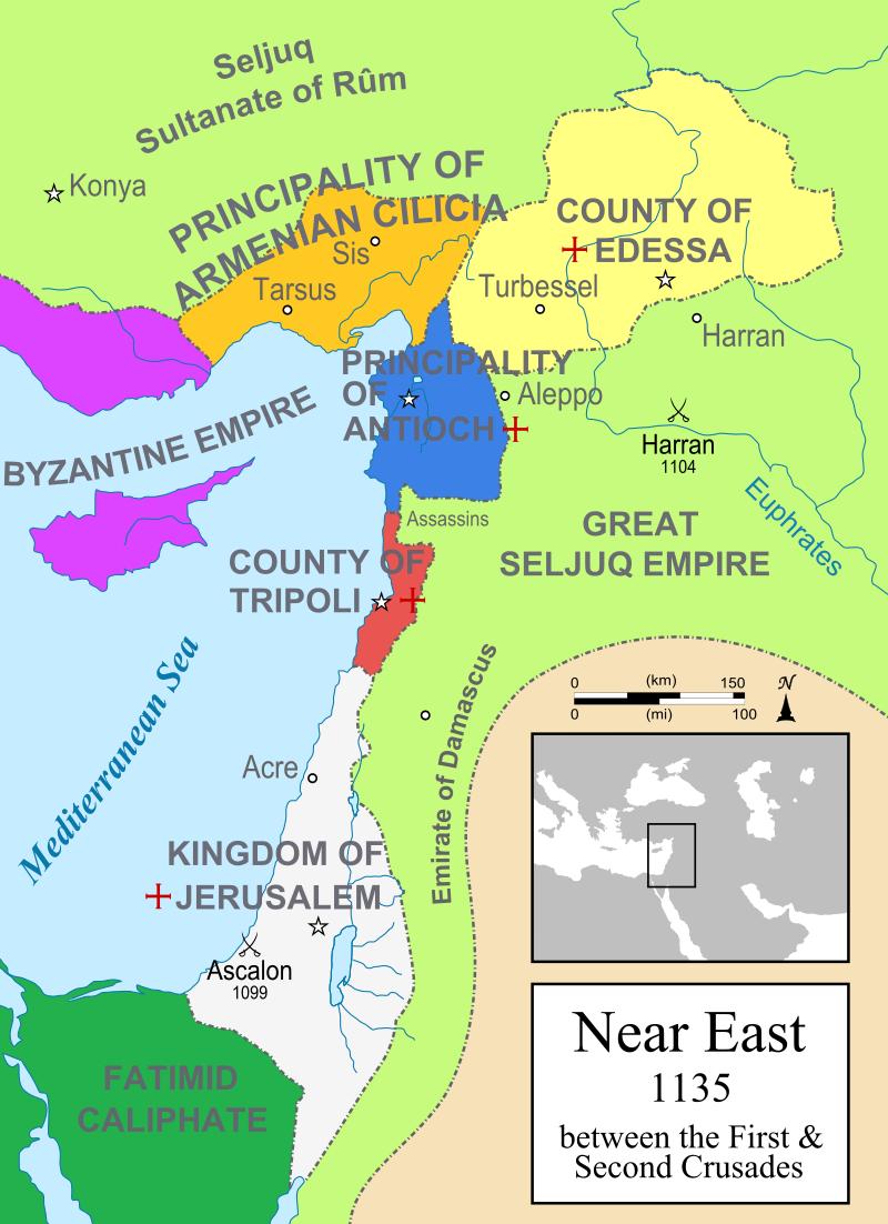 второй крестовый поход 1147 1149